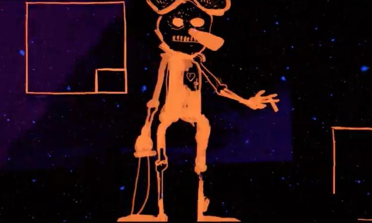 DJ Shadow comparte vídeo con dibujos animados retorcidos