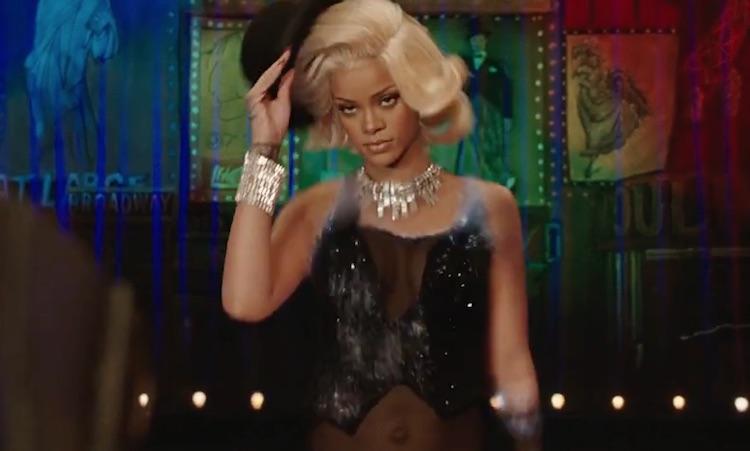 Rihanna, cabaretera galáctica en lo nuevo de Luc Besson