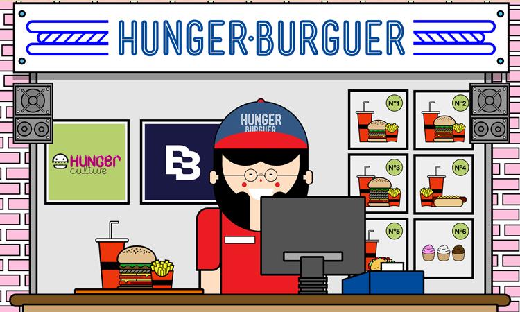 #HungerBurguer 08: especial Navidad 2016