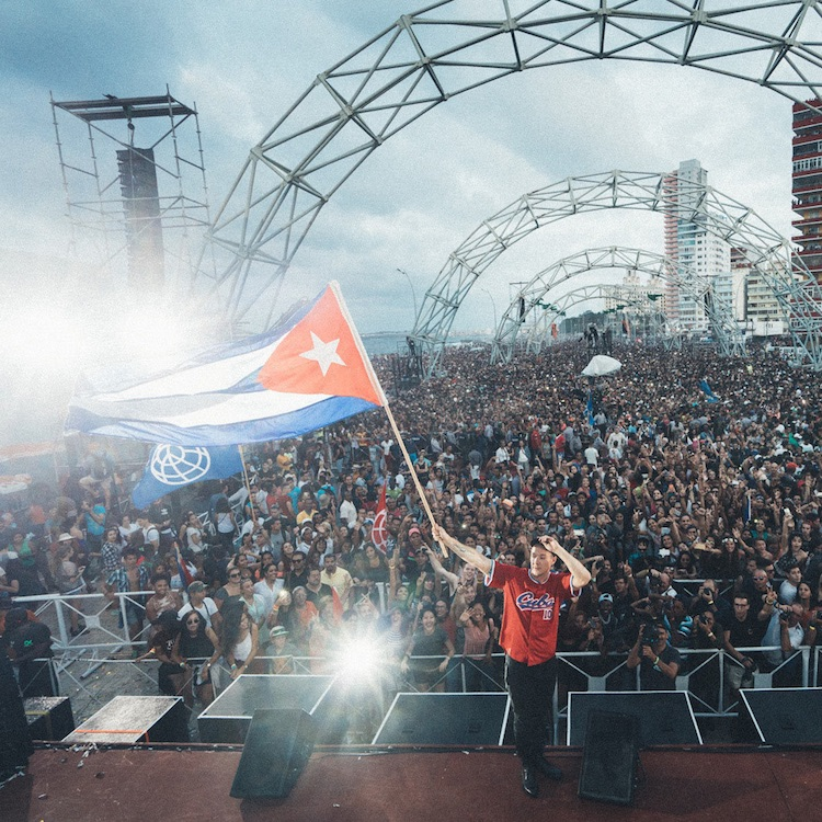 El show de Major Lazer en Cuba se recogerá en un documental