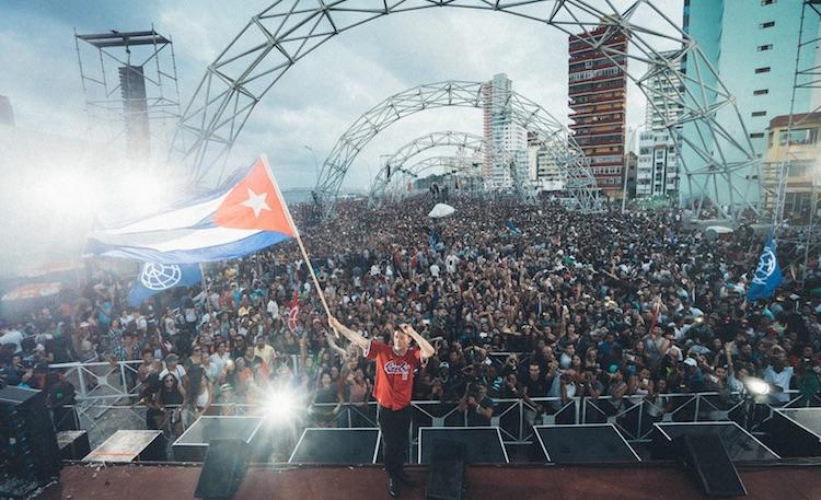 El show de Major Lazer en Cuba se recogerá en un documental
