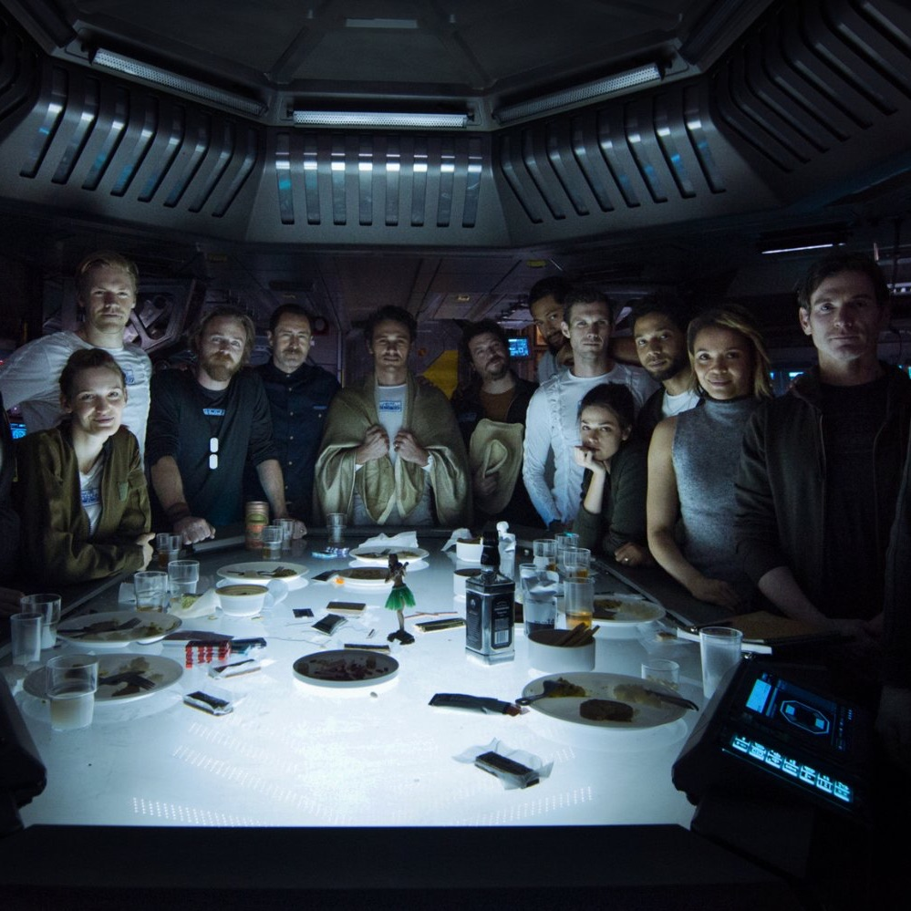 "Ridley Scott muestra un prólogo de cinco minutos de ""Alien: Covenant"""