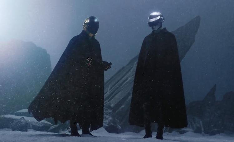 The Weeknd se trae a los Lores del Sith Daft Punk a su nuevo vídeo