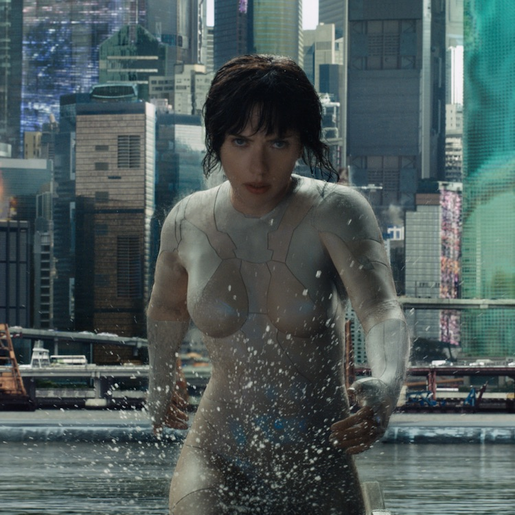 "Mira los primeros cinco minutos de ""Ghost In The Shell"""