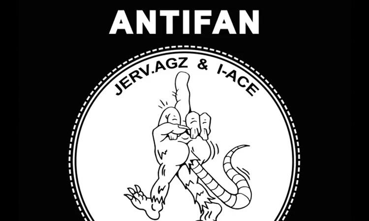 """La esencia """"Antifan"""" de Jerv.agz brilla en un repentino álbum junto a I-Ace"""