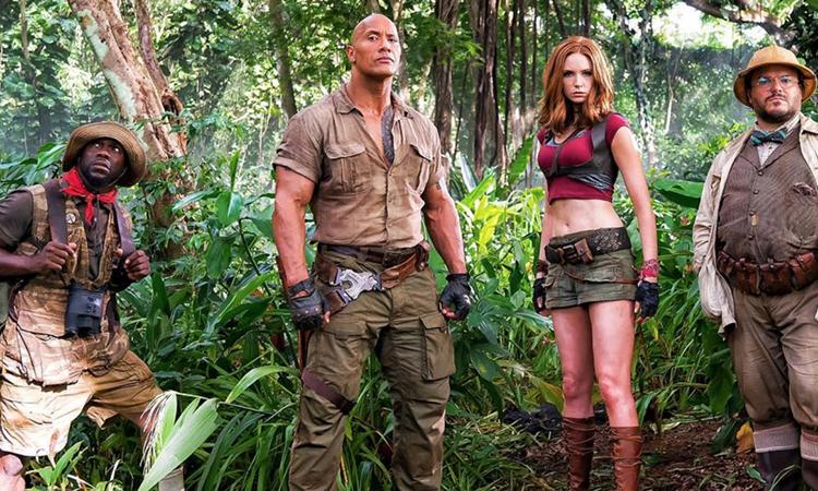 Tráiler de 'Jumanji 2: Welcome to the Jungle', ahora el tablero es un videojuego