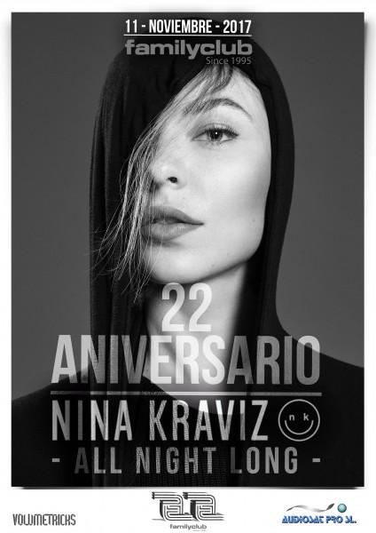 cartel 22 aniversario