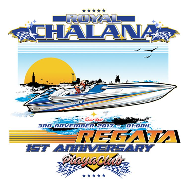Lanchas a punto para el primer aniversario de Chalana