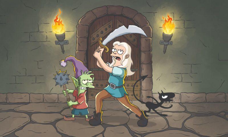 """Primeros detalles de """"Disenchantment"""", la nueva serie de Matt Groening para Netflix"""