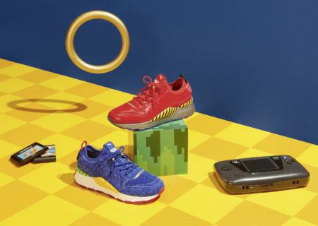 Puma rinde tributo a la edad dorada de Sega en unas nuevas zapatillas