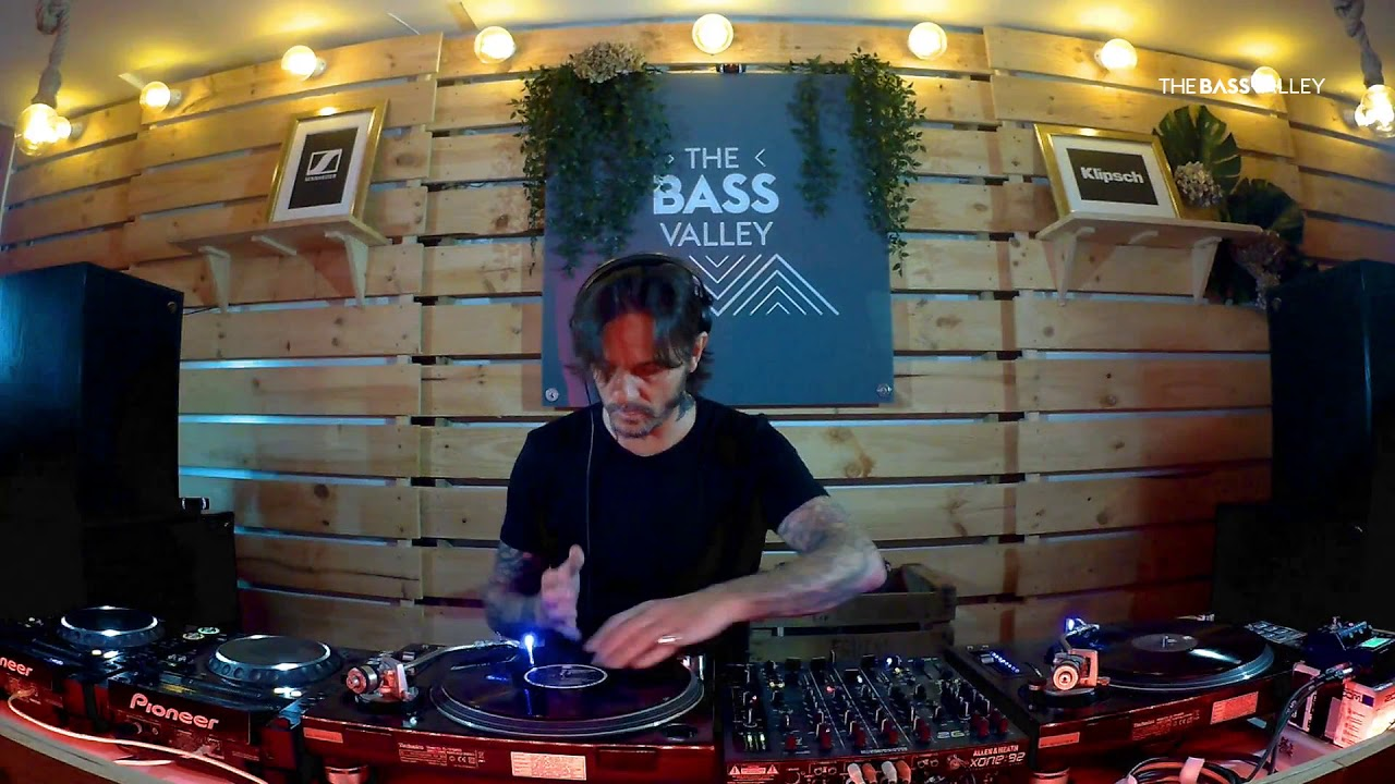 Óscar Mulero, en The Bass Valley