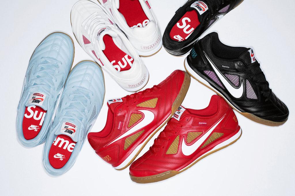 Supreme y Nike se vuelven a aliar para reimaginar un clásico