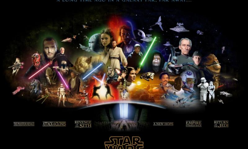 """Topher Grace condensa las 10 películas de """"Star Wars"""" en 5 minutos"""