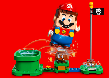 LEGO y Nintendo anuncian su colaboración Super Mario