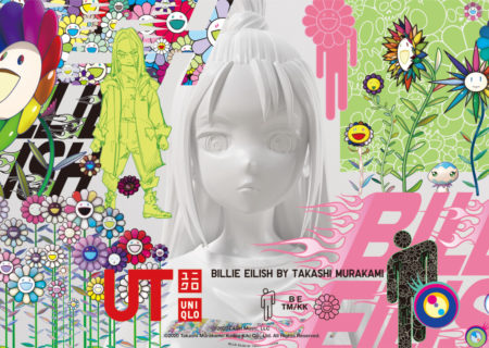 Billie Eilish colabora con Takashi Murakami en una colección de Uniqlo