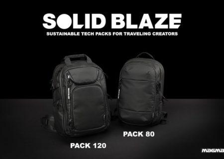 MAGMA presenta sus nuevas mochilas sostenibles SOLID BLAZE