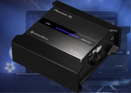 Pioneer DJRB-DMX1: sincronización de luces y música a través de una nueva interfaz